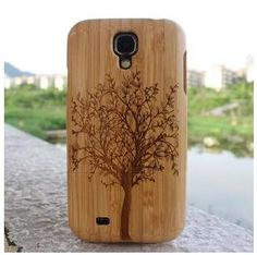 Wooden Hard Back Case Cover for Samsung Galaxy S4 case by dfvcer, $26.99