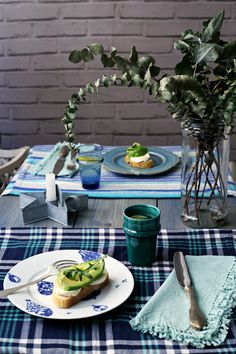 Cenas en azul.