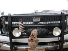 Zombie decoration. Wish I had one.