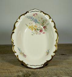 Vintage Porcelain BowlVintage by DKVINTAGEGALLERY on Etsy