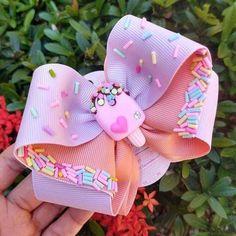 Diy Hair Bows, Diy Bow, Making Hair Bows, Baby Girl Headbands, Baby Bows, Baby Hair Clips, Ribbon Crafts, Ribbon Bows, Ribbon Hair