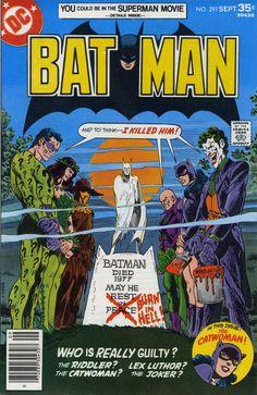 Batman 291- Great Cover