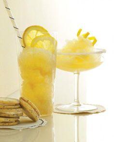 Emmaline Bride Weekend Edition - frozen ginger lemonade (via martha stewart weddings)
