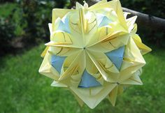 Andre's Origami: Summer Project 3 - Stone Flower