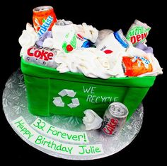Recycling Cake Ideas