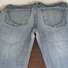 Paper Denim and Cloth jeans Sienna low rise straight cut. Unaltered. Paper Denim and Cloth Jeans Straight Leg