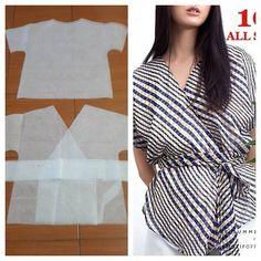 Basic kimono pattern