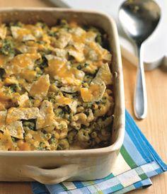 Nacho Macaroni and Cheese Recipe  at Epicurious.com