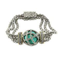 Just Arrived!    http://www.joyoflondonjewels.com/products/a-triple-strand-turquoise-sterling-silver-bracelet?utm_campaign=social_autopilot&utm_source=pin&utm_medium=pin