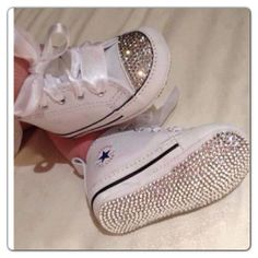 Not a converse kindah girl but these are an exception! Baby Bling.....
