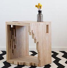 Ply Parasite, Plywood, Bedside Table, Magazine Rack, Melbourne, Design, Sawdust Bureau, Modern Timber, Furniture