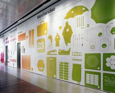best of interior branding and signage Environmental Graphic Design, Environmental Graphics, Wayfinding Signage, Signage Design, Office Mural, Interactive Installation, Interactive Display, Graffiti, Sign Display
