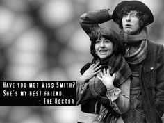 The Fourth Doctor & Sarah-Jane 800x600