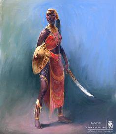 Kabiyesi the queen of the holy land, Wagner de Souza Orisha, African American Art, African Art, Fantasy Inspiration, Character Inspiration, Character Portraits, Character Art, Fantasy Characters, Female Characters