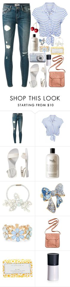 """""""Prince"""" by shazellove ❤ liked on Polyvore featuring Paige Denim, Forever New, Old Navy, Casio, philosophy, Jennifer Behr, Betsey Johnson, Madewell, Lollia and Giorgio Armani"""