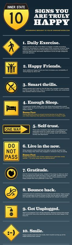 10 signs that you are truly happy..