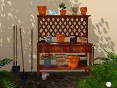 Potting Set by DOT - Sims 3 Downloads CC Caboodle