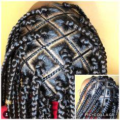Two Braid Hairstyles, Lil Girl Hairstyles, Black Girl Braided Hairstyles, African Braids Hairstyles, Natural Hair Braids, Braids For Black Hair, Natural Hair Styles, Kid Braid Styles, Box Braids Styling