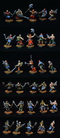 Chaos Cultists Anarkus close combat weapons