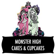 With no official cake making supplies for Monster High on the market, this leaf gives examples of how to create a Monster High cake (or cupcakes) from scratch using your own materials.