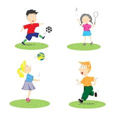 sport kids by auimeesri on @creativemarket