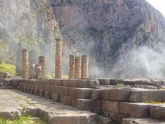 Temple of Apollo at Delphi in Greece 31