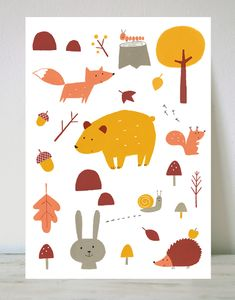 Teresa Bellón's illustrations are plenty of colour and creativity There are lots of cute and different prints…choosing is really difficult! I have been checking out the Menudos cuadros online shop …