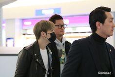 #170302 #Jaejoong at #Haneda heading back to #Korea