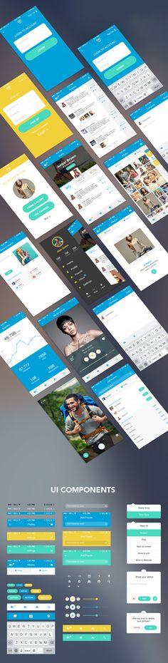 free-mobile-app-ui-kit-full-view