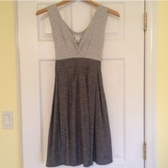 Derek Heart Grey Sleeveless Dress Casual yet flattering. Pairs with so many different color accessories. Only worn once. Derek Heart Dresses
