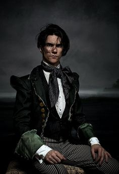 OOOOOooooo is he available? ;-) He's one of the sexiest GothSteam model/images soo far! Puurrrrfection!
