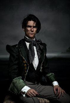 OOOOOooooo is he available? ;-) He's one of the sexiest GothSteam model/images soo far! Puurrrrfection!