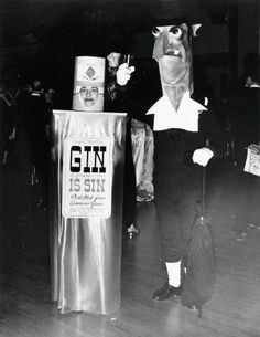 "Weegee - ""Gin is Sin"", ca.1950"