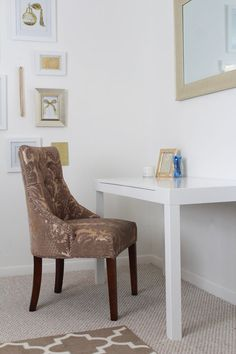 LICP office | white desk