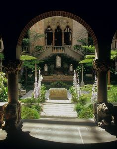 The Italianate courtyard inside the Isabella Stewart Gardner Museum, just outside of Boston.  A jewel of a museum; tiny, intimate, accessible.  Still laid out the way Ms. Gardner originally designed.  Breathtaking.