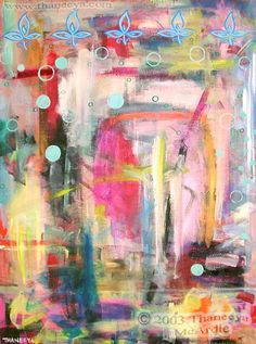 Modern Abstract Expressionism Painting by Thaneeya
