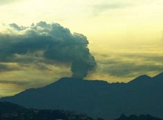 A Villager Caught This Creepy UFO Hovering Around A Volcano