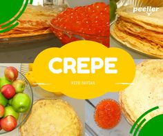 Crepe with Caviar!
