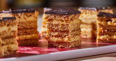 Mézes krémes - a klasszikus recept   Street Kitchen Tiramisu, Biscotti, French Toast, Cheesecake, Food And Drink, Cooking Recipes, Cookies, Breakfast, Ethnic Recipes