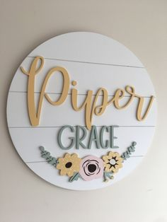 The shiplap backboard works with any farmhouse decor. This sign is stunning in a floral nursery or baby girls room Cute Baby Girl Names, Unique Baby Names, Baby Love, Baby Baby, Pretty Names, Cute Names, Dog Names, Baby Name List, Baby Name Signs