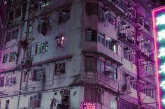 sci fi apartment building / cyberpunk / futuristic / cityscape / digital art / industrial