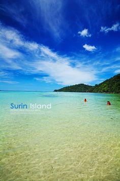 หมู่เกาะสุรินทร์ Surin Island, Thailand