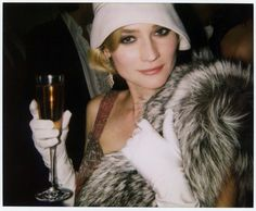 Great Gatsby Themed Party - attire, Diane Kruger