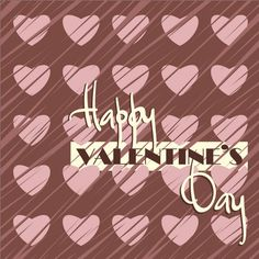 Free vector Happy valentine's day card