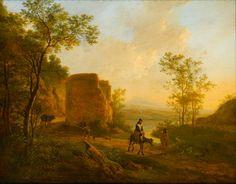 * Jan Both - - - Zuidelijk Landschap met een ruïne - (040-001)