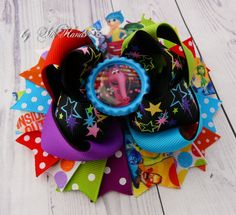 Layered Stacked Boutique Hair Bow!!! They are perfect for babies, toddlers and big girls.   This listing is for 1 bow. Your Bow:  ♥ Measures about 5 inches across  ♥ 3 layers tall ♥ is...@ artfire
