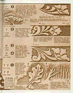 su Leather Tooling Patterns su