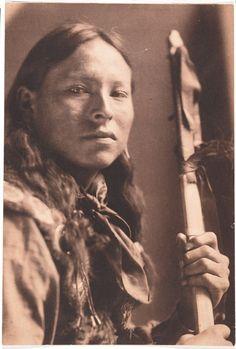 TAKES ENEMY, Lakota (Gertrude Kasebier, 1898)