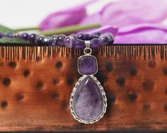 https://www.etsy.com/listing/100504846/amethyst-and-swarovski-necklace#