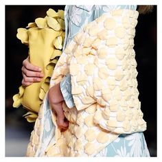 ✖️DETAIL✖️👌🏼@MIUMIU #parisfashionweek #pattern #bag #pastel #ss17